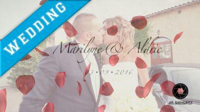 Marilyne & Aldric